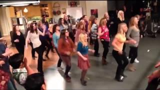The Big Bang Theory FLASHMOB ON SET [HD]