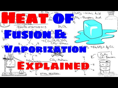 Heat of Fusion and Heat of Vaporization Explained