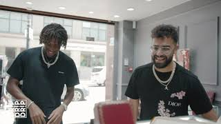 Alex Iwobi Gets Iced out Cuban chain + more - #Drip Ep.9 | Link Up TV