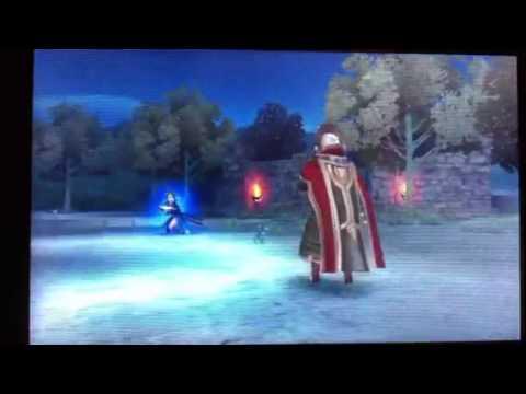 Fire Emblem: Awakening - Marth vs. Lyn Astra Fight