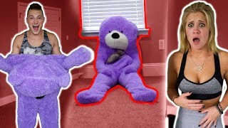 TEDDY BEAR COMES TO LIFE *PRANK* (SCARE PRANKS)