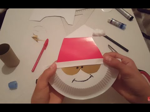 How To Make A Santa Claus Face For Christmas