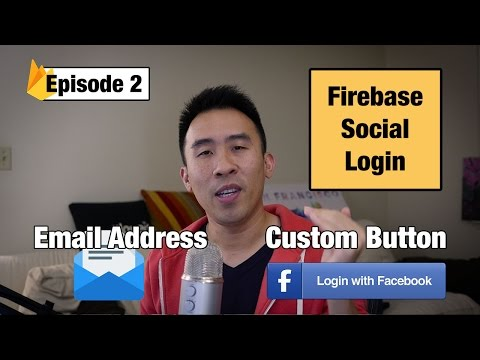 Swift 3: Firebase Social Login - Facebook Email and Custom Login Button (Ep 2)