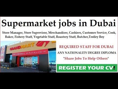 Jobs in Dubai / GrandMart Supermarket / Free Recruitment / Urgent Requirement / Dubai Latest Job2018