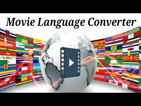Movie Language Converter For Android (Add External movie audio tracks in android )