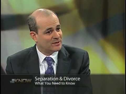 In The Know - The separation agreement is the key (divorce is just a formality).