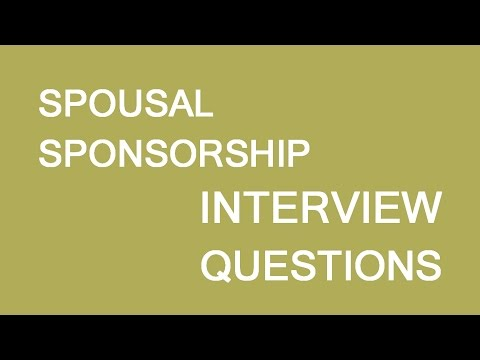 Spousal sponsorship Interview. LP Group Canada