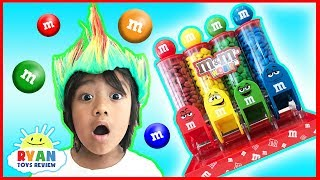 BAD KID STEALS M&M IRL Kids Pretend Play! Learn Colors with Candy for Children Toddlers and Babies