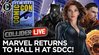 MCU Phase 4 to Be Announced at San Diego Comic-Con - Collider Live #159