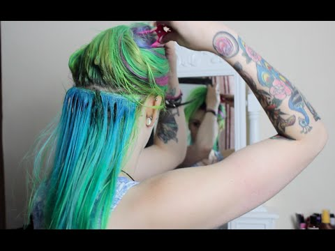 Removing My Glued-in Hair Extensions