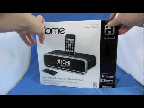 iHome iA91 Alarm and Radio Unboxing & Review