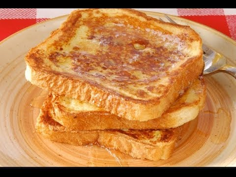 French Toast Without Milk/Homemade French Toast/Classic & Quick recipe (RUBY KITCHEN)