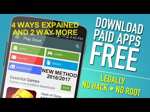 How to download paid Apps/Games for free on any Android Phone NEW METHOD 2016/2017 [ HINDI ] NO ROOT