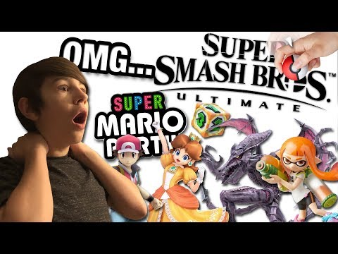 RIDLEY, ICE CLIMBERS AND MORE! REACTING TO NINTENDO'S E3 2018 DIRECT | TheMasonGamer Reacts