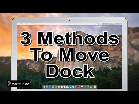 Three Methods to Move the Dock In Mac OS X