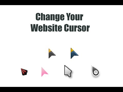 CSS Toutorials - Change Your Mouse Pointer || Web Designing ||CssShots