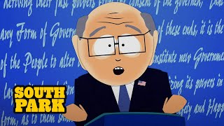 At the first Presidential debate, Garrison speaks from the heart and tries to convince everyone to vote for his opponent. Watch the full episode for FREE - http://cart.mn/sp-ep2003