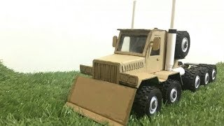 RC Homemade | Amazing RC Heavy Truck Container | How to make RC Truck at home