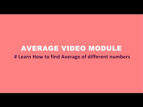 Average Video No 1 | How to find average of different numbers in 10 secs | Learn it Smartkeeda way