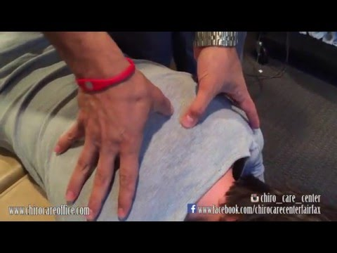 Chiropractic Adjustment on Patient with Minor Scoliosis and Forward Head Carriage