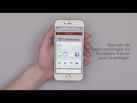 Comment effectuer et partager une capture d'écran sur un appareil iPhone