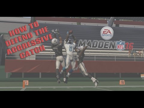 Defending the Aggressive Catch in Madden 16