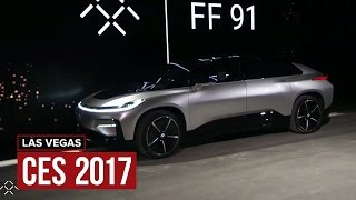 Faraday Future takes on Tesla with FF 91, fully electric hyper-car