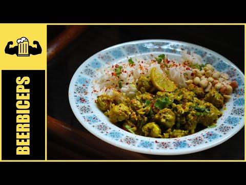 Soya Curry - South Indian Soya Chunks Recipe - BeerBiceps Healthy Vegetarian Recipes