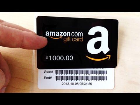 شرح كامل لبطاقات أمازون  Gifts Cards Amazon طريقة  الأستخدام الشراء بها وكيف تحصل عليها مجانا