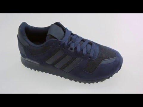 online store b25dd 3ff4d Adidas ZX 700 blauwe lage sneakers