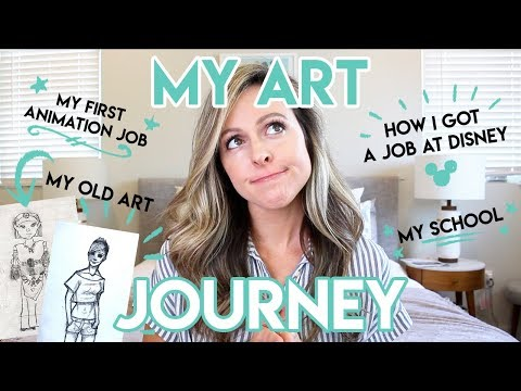 MY ART JOURNEY / HOW I GOT A JOB AT DISNEY