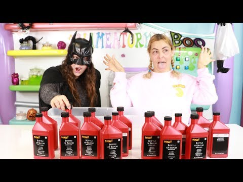 Download Don't Choose The wrong FAKE BLOOD for SLIME! HALLOWEEN