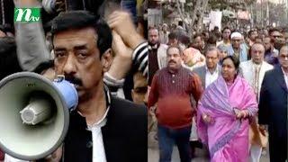 Killing attempt on Selina Hayat Ivy in Narayanganj, clash between two sides