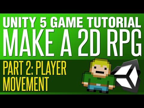 Unity RPG Tutorial #2 - Player Movement