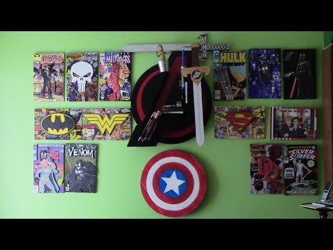 Glow-in-the-Dark 3D Comic Book Fan Art: Marvel, DC, Trump, Dr. Who, Darth Vader