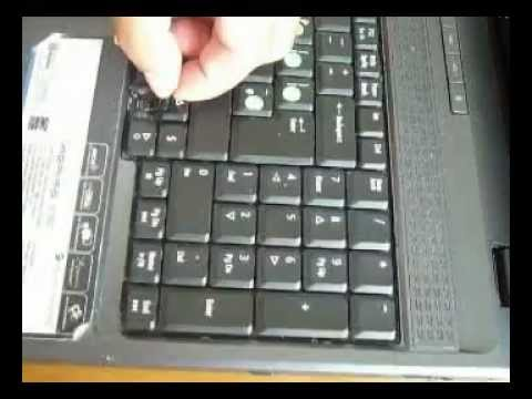 how to clean a keyboard Acer Aspire