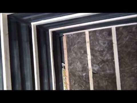 Framing a 20' shipping container. Insulating & finishing.