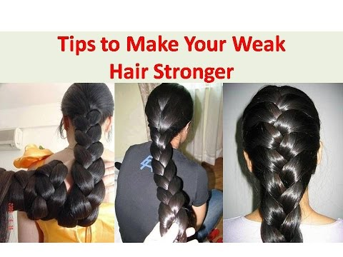Get Thicker Hair Naturally | Make Your Weak Hair Stronger | How to Strengthen Hair Roots