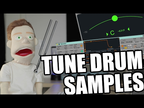 How To Produce In Key: Tune Drum Samples Ableton Tutorial