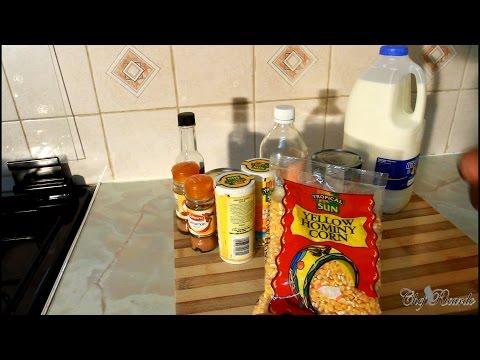 Coming Soon Hominy Corn Porridge Recipe Coming Soon Jamaica way !!