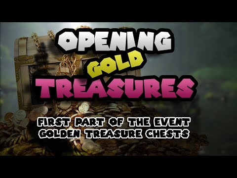 BDO: Opening GOLD Treasure Chests! (Part 1)