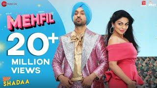 MEHFIL - SHADAA | Diljit Dosanjh | Neeru Bajwa | 21st June | New Punjabi Dance Song 2019