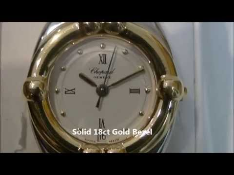 Beautiful Designed Chopard Gstaad 18ct Gold/ Stainless Steel Watch.