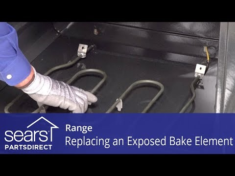 Replacing a Range Exposed Bake Element