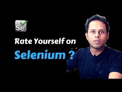QnA Friday 35 - How to Rate Yourself on Selenium, Jenkins ... ?
