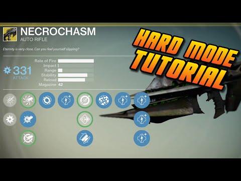 Destiny - Hard Mode Crota Final Boss Tutorial & Strategy | Crota's End Hard Raid