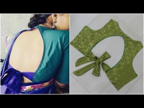 Back Neck Design For Blouse