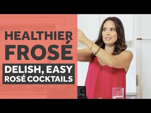 Healthier Frose: Delish, Easy, Rose Cocktails