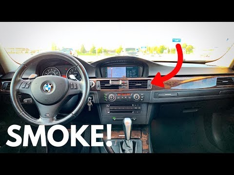 Here's Why Your BMW Is SMOKING Through The Vents!