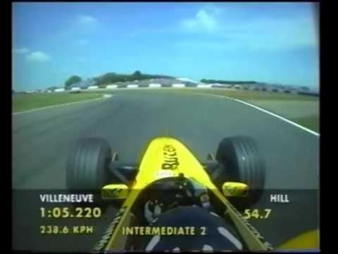 F1 Silverstone 1999 - Damon Hill Onboard